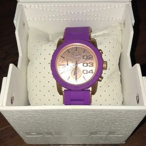 Diesel Women's Purple Watch